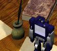 Soundwave on a Desk - 3ds Max