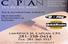 Yellow Pages Ad for L. Caplan, CPA